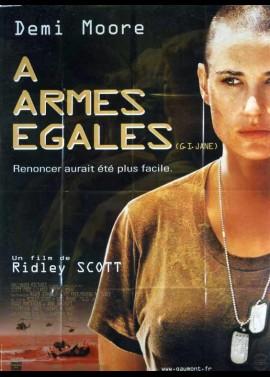 affiche du film A ARMES EGALES