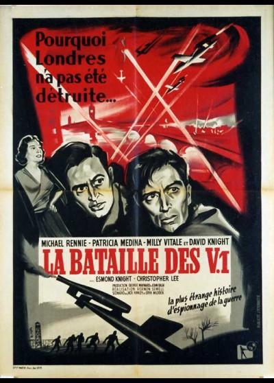 affiche du film BATAILLE DES V1 (LA)