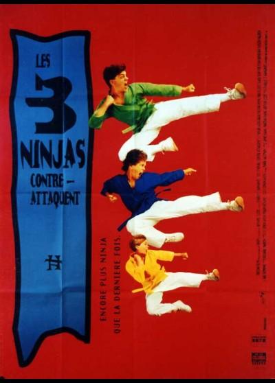 affiche du film TROIS NINJAS CONTRE ATTAQUENT (LES)