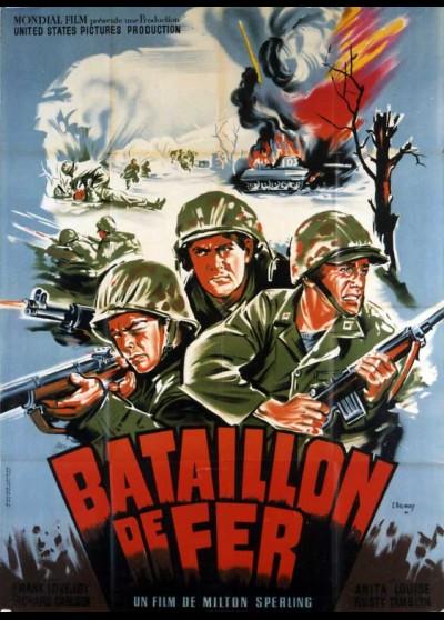affiche du film BATAILLON DE FER