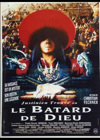affiche du film JUSTINIEN OU LE BATARD DE DIEU (LE)