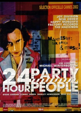 TWENTY FOUR HOUR PARTY PEOPLE movie poster