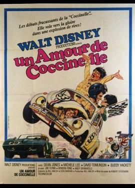 affiche du film UN AMOUR DE COCCINELLE