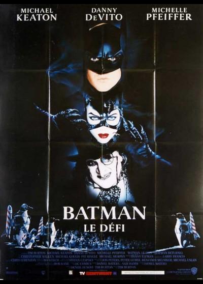 affiche du film BATMAN LE DEFI