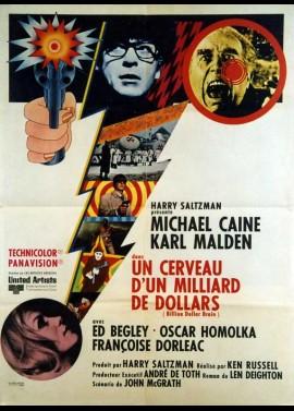 affiche du film UN CERVEAU D'UN MILLIARD DE DOLLARS