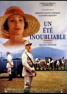 affiche du film UN ETE INOUBLIABLE