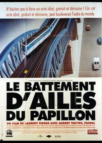 affiche du film BATTEMENT D'AILES DU PAPILLON (LE)