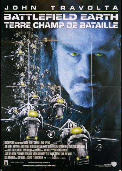 affiche du film BATTLEFIELD EARTH TERRE CHAMPS DE BATAILLE