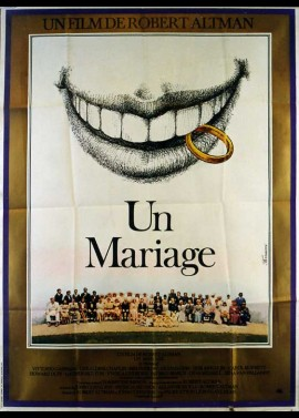 A WEDDING movie poster