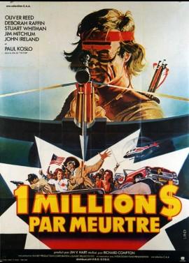 affiche du film UN MILLION DE DOLLARS PAR MEURTRE