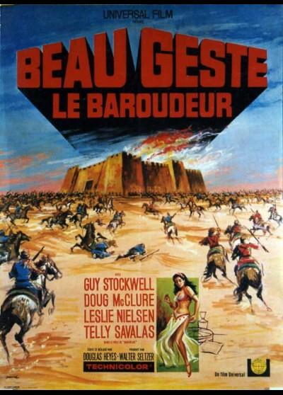 affiche du film BEAU GESTE LE BAROUDEUR