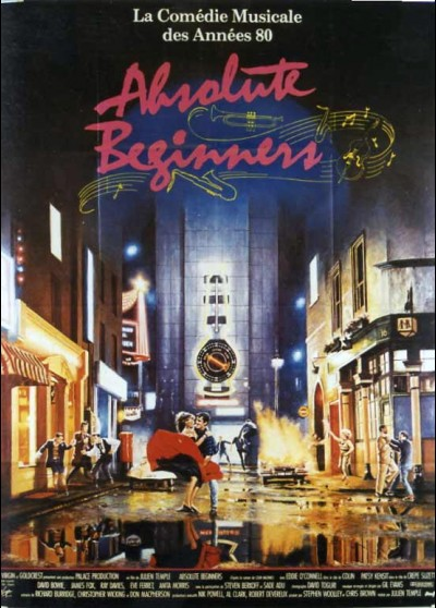 ABSOLUTE BEGINNERS movie poster