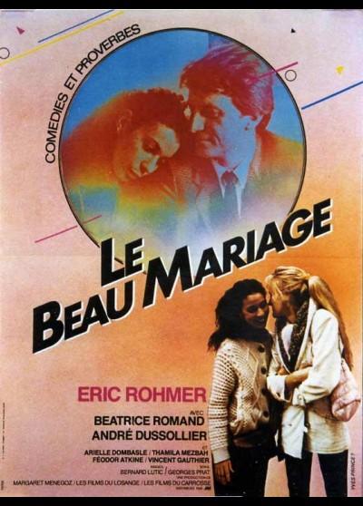 affiche du film BEAU MARIAGE (LE)