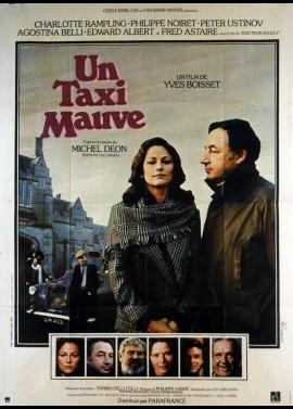 affiche du film UN TAXI MAUVE