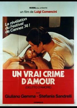 DELITTO D'AMORE movie poster