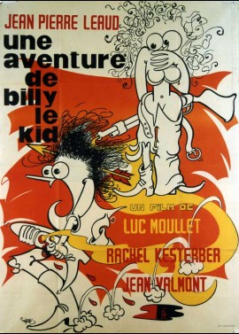affiche du film UNE AVENTURE DE BILLY LE KID