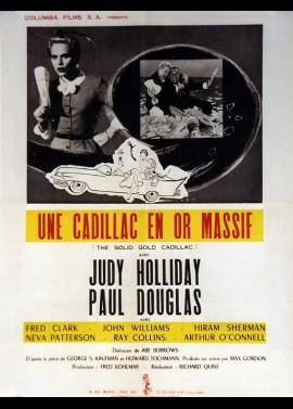 affiche du film UNE CADILLAC EN OR MASSIF