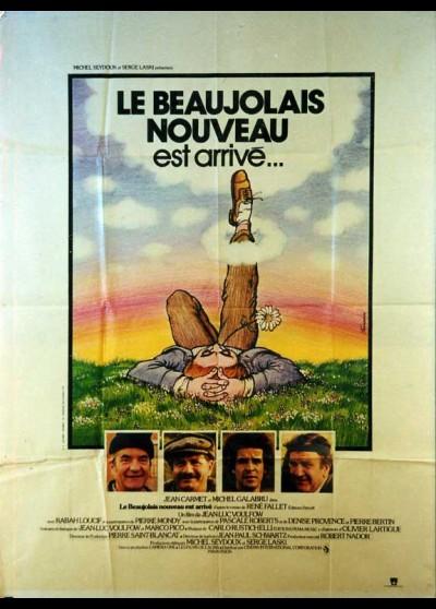 affiche du film BEAUJOLAIS NOUVEAU EST ARRIVE (LE)