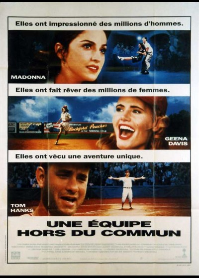 A LEAGUE FOR THEIR OWN movie poster