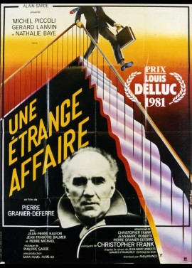 UNE ETRANGE AFFAIRE movie poster