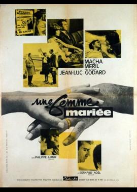 UNE FEMME MARIEE movie poster