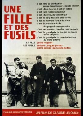 affiche du film UNE FILLE ET DES FUSILS