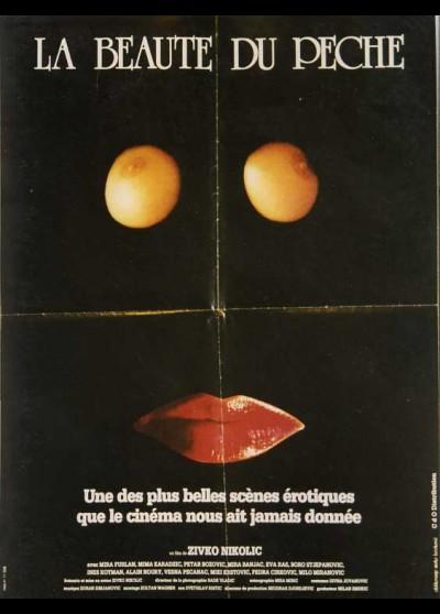 affiche du film BEAUTE DU PECHE (LA)
