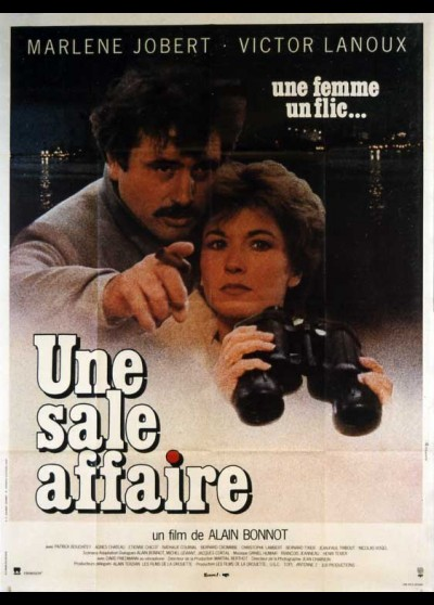 UNE SALE AFFAIRE movie poster