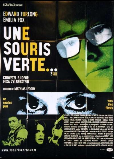 affiche du film UNE SOURIS VERTE