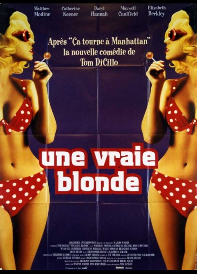 REAL BLONDE (THE) movie poster