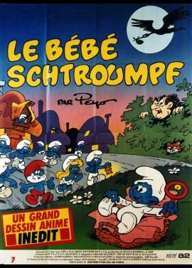 affiche du film BEBE SCHTROUMPF (LE)