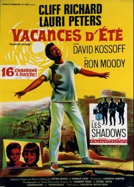 affiche du film VACANCES D'ETE