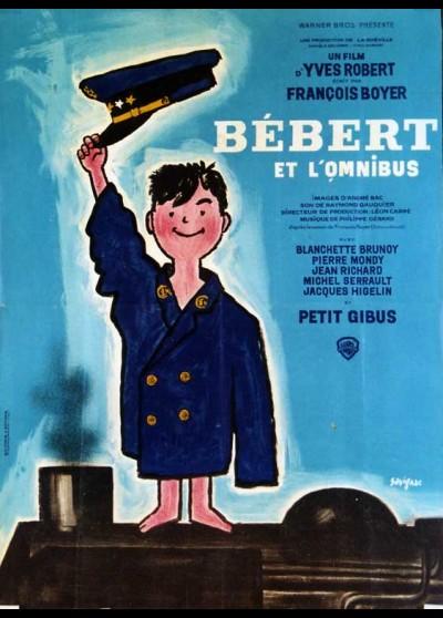 affiche du film BEBERT ET L'OMNIBUS