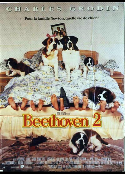 BEETHOVEN'S 2ND / BEETHOVEN'S SECOND movie poster