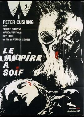 affiche du film VAMPIRE A SOIF (LE)