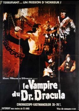affiche du film VAMPIRE DU DOCTEUR DRACULA (LE)