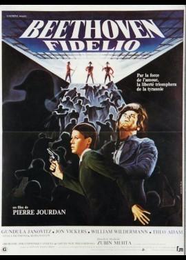 affiche du film BEETHOVEN FIDELIO