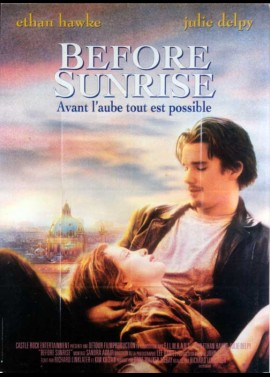 BEFORE SUNRISE movie poster