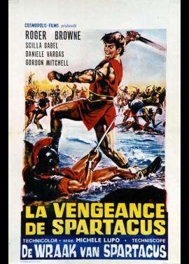 affiche du film VENGEANCE DE SPARTACUS (LA)