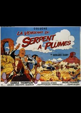 affiche du film VENGEANCE DU SERPENT A PLUMES (LA)