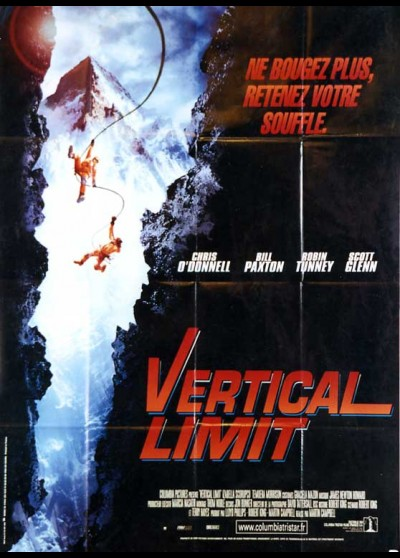 VERTICAL LIMIT movie poster