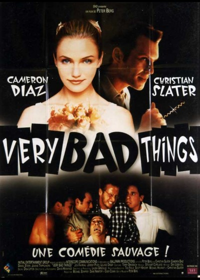 VERY BAD THINGS movie poster