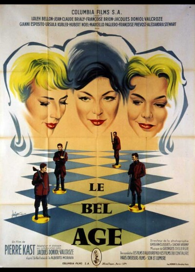 BEL AGE (LE) movie poster