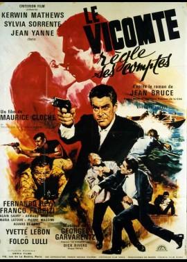affiche du film VICOMTE REGLE SES COMPTES (LE)
