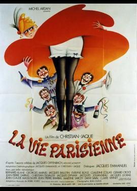 affiche du film VIE PARISIENNE (LA)