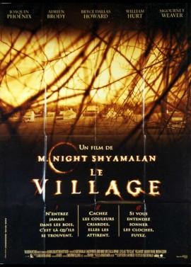 affiche du film VILLAGE (LE)