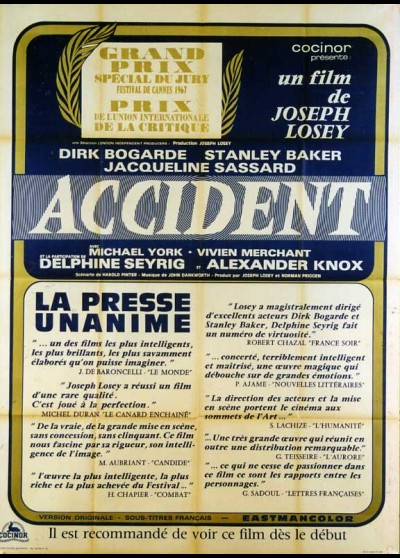ACCIDENT movie poster