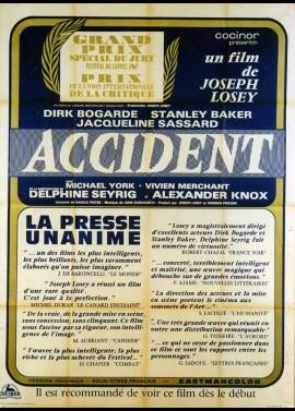 affiche du film ACCIDENT