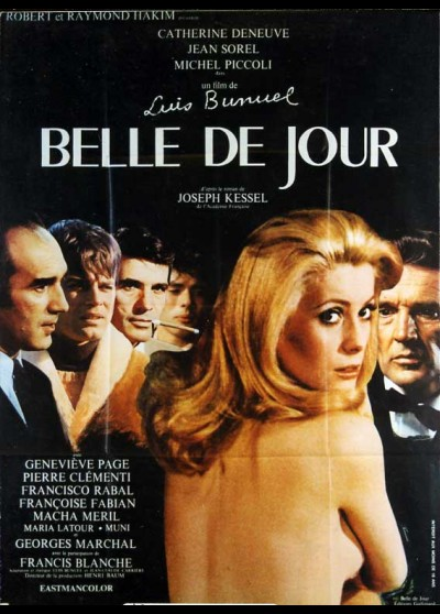 BELLE DE JOUR movie poster