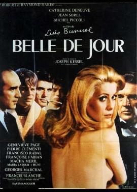 affiche du film BELLE DE JOUR